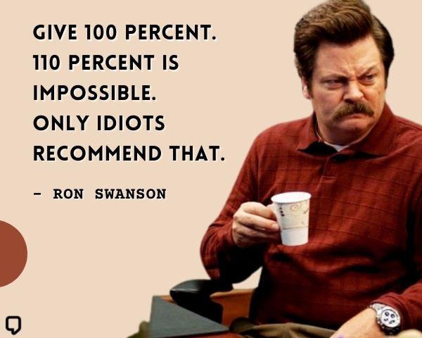 best of ron swanson quotes
