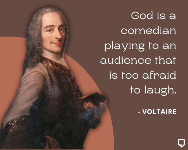 Voltaire Quotes on God