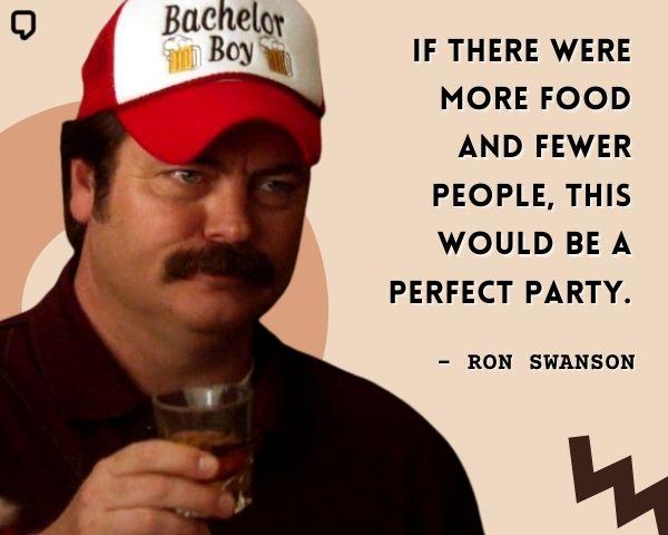 Funny Ron Swanson Quotes