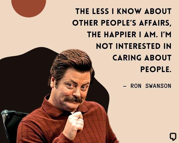 Ron Swanson Quotes
