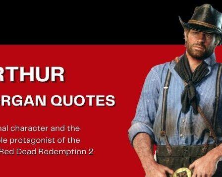 Arthur Morgan Quotes