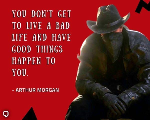 best arthur morgan quotes